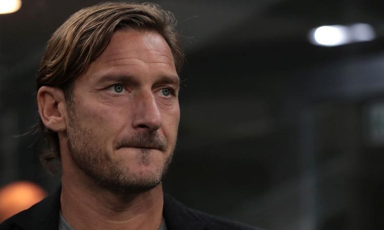 Totti: tripletta e sconfitta contro la Roma di Di Michele