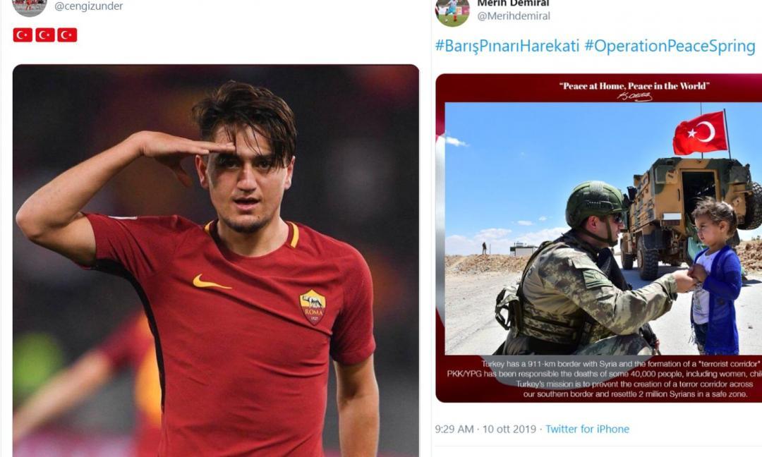 Viva il popolo curdo, ma Under e Demiral hanno fatto bene
