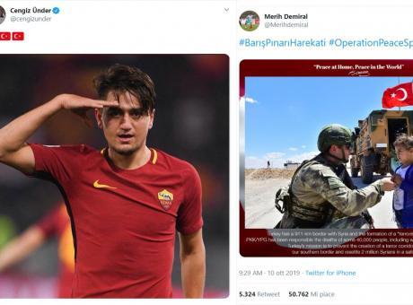 Roma e Juve, perché non vi esprimete sui casi Under e Demiral? Il popolo curdo merita rispetto