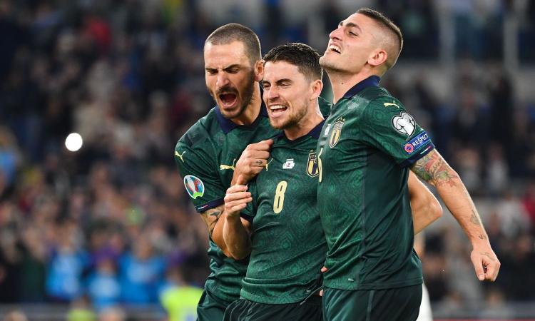 Italia qualificata a Euro2020: nessuno come Mancini, è la favorita