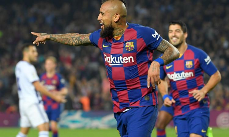 Inter: Vidal in prestito con Emerson o Alonso