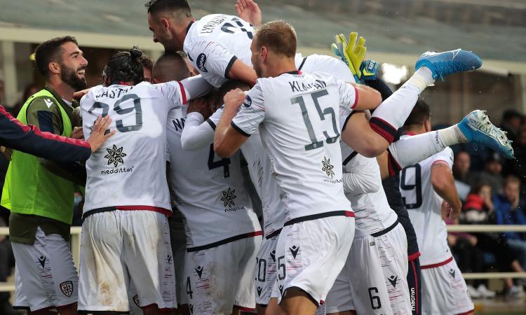 La vera sorpresa del campionato è il Cagliari: numeri che ricordano lo Scudetto '70! Atalanta senza gol, che succede?