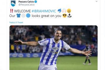 Ibrahimovic.Pescara.annuncio.2019.20.jpg GETTY IMAGES