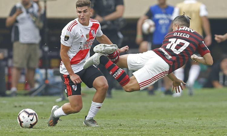 Inter su Lucas Martinez Quarta: Zanetti in missione, l'agente apre