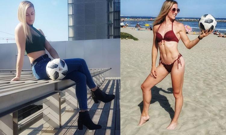 Melody Donchet, regina del freestyle! Curve e acrobazie FOTO E VIDEO