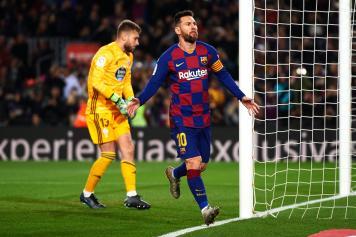 Messi Barcellona esultanza