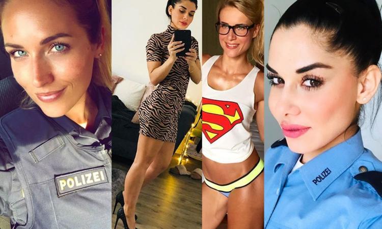 Inter, a Dortmund attenta alle sexy poliziotte tedesche! GALLERY HOT