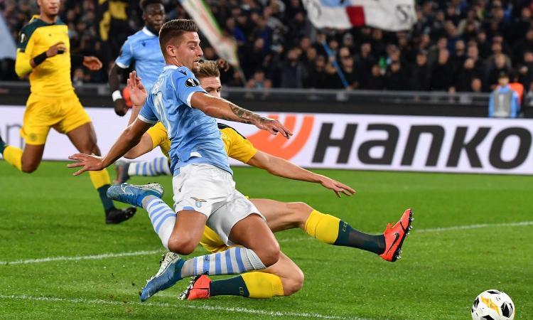 Lazio-Celtic, le pagelle di CM: si salva solo Immobile. Milinkovic e Jony disastrosi