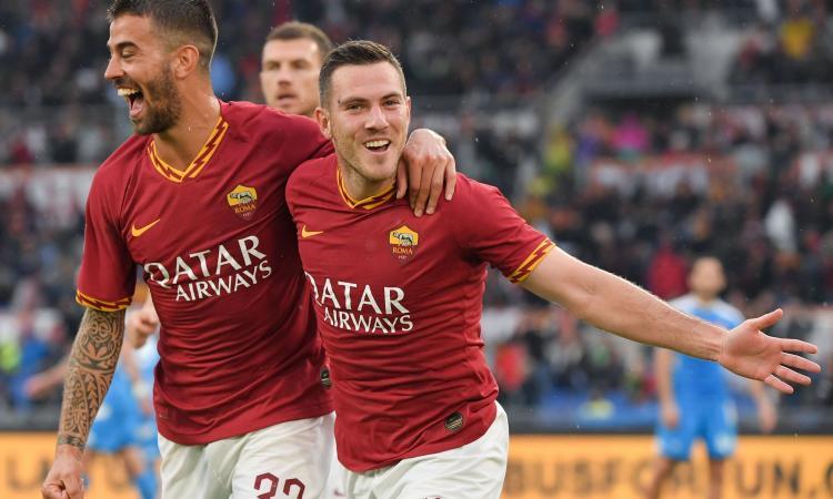 Convocati Roma: torna Spinazzola, ancora out Mkhitaryan