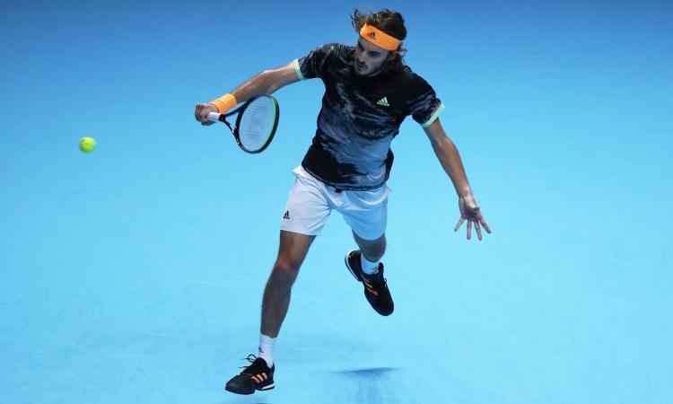 Il Genoa fa il tifo per il tennista Tsitsipas