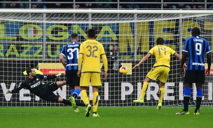 Verona, Verre: 'Inter forte, serve attenzione. Il rigore? Così ho battuto Handanovic'