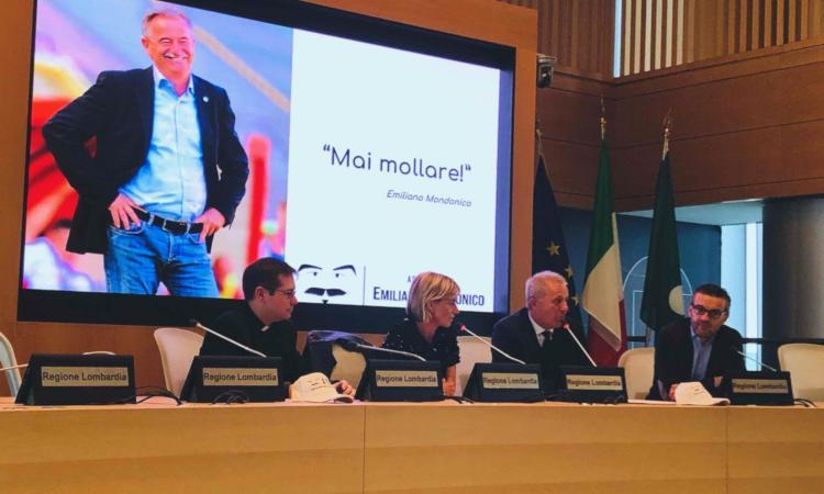 Associazione Mondonico: presentazione in Regione Lombardia con Lentini - Calciomercato.com