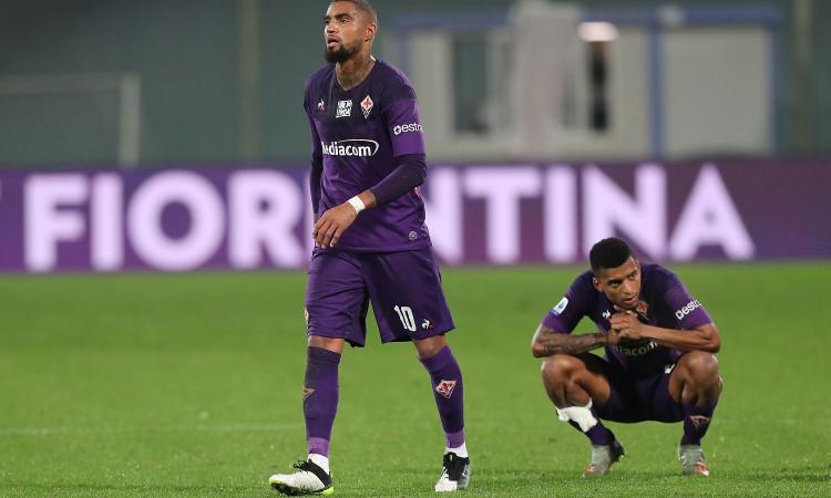 E' una Fiorentina senza idee che perde anche Ribery: il Lecce vince con merito e recrimina per due rigori netti