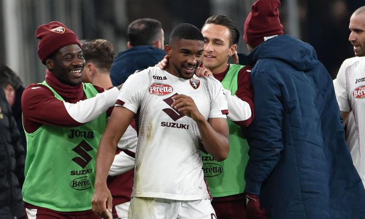 Genoa-Torino: che incornata di Bremer, Thiago Motta al palo GUARDA GLI HIGHLIGHTS
