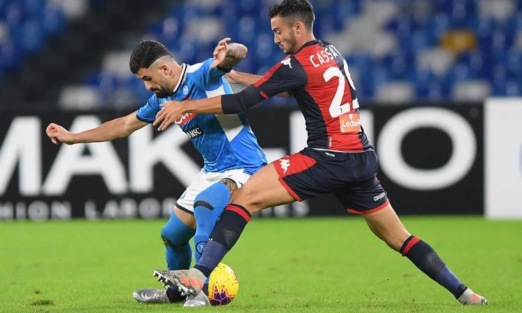 Genoa, Cassata: 'Meritavamo la vittoria. Con Lecce e Samp col coltello fra i denti'