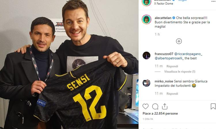 Inter, Conte e Sensi a X Factor: pronostico sul vincitore e regalo a Cattelan