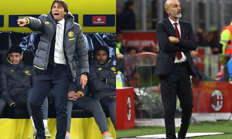 Pioli vince e il Milan lo caccia, Conte perde e per l'Inter è intoccabile: Milano, una città sottosopra