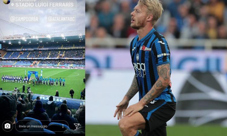 Il Fenerbahçe a Genova per Sampdoria-Atalanta
