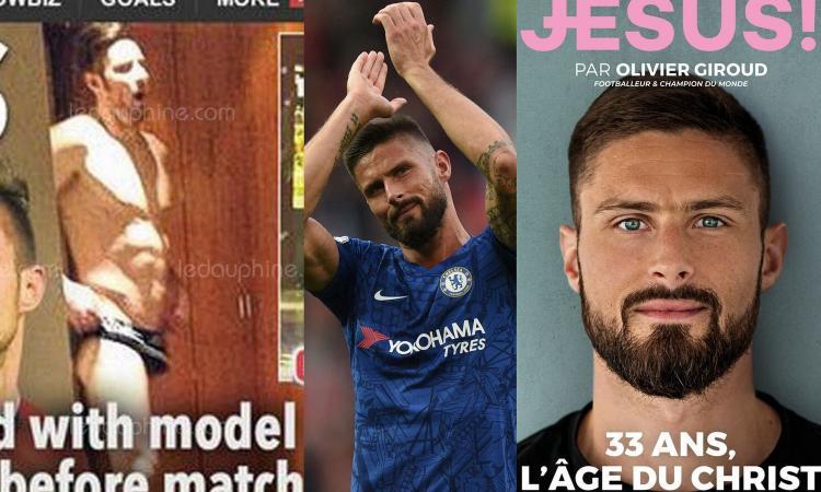 Le 5 cose che non sai di Giroud, obiettivo dell'Inter: dallo scoop in mutande alla rivista Jesus