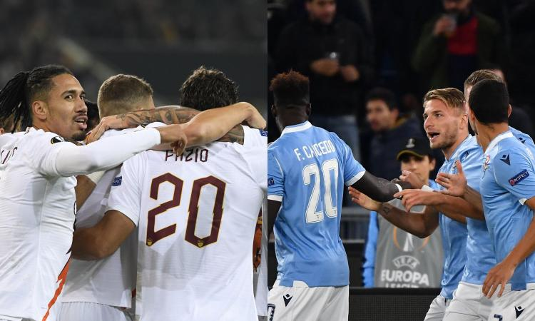 Europa League: ecco come si qualificano Roma e Lazio ai sedicesimi di finale