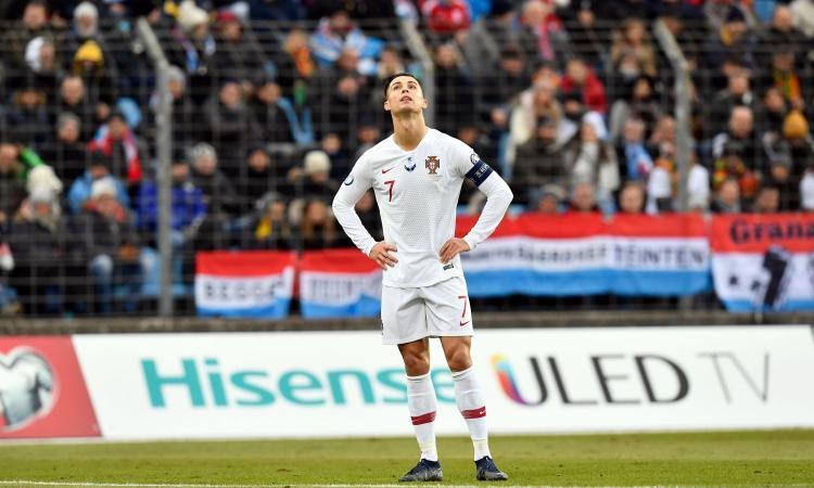 Ronaldo: 'Per la Juve gioco infortunato da un mese. Il cambio con il Milan? Non stavo bene'