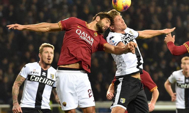 Sprocati e Cornelius fermano la Roma: 2-0, il Parma riparte