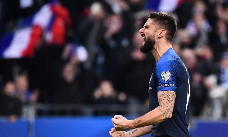 Giroud ancora decisivo con la Francia: l'Inter c'è, occhio al Borussia Dortmund
