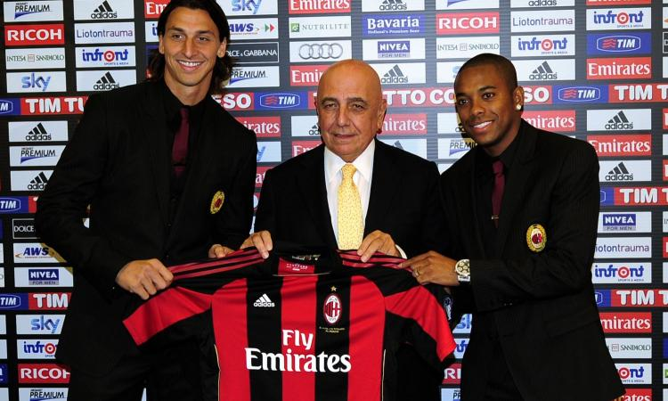 Galliani: 'Ibrahimovic di nuovo al Milan? Sarebbe romantico...'
