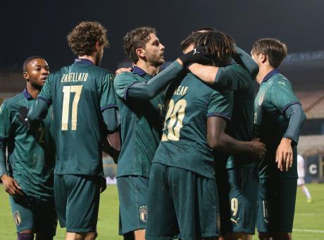 Under 21, l'Italia a valanga sull'Armenia: 6-0 con super Kean