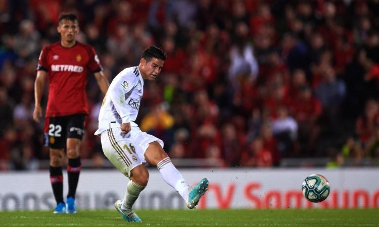Real Madrid, James ko: i tempi di recuperi