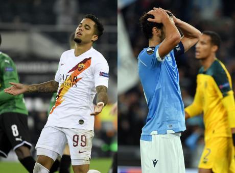 La pagella: Roma e Lazio ko, l'Europa League non fa per noi. Il voto è 5