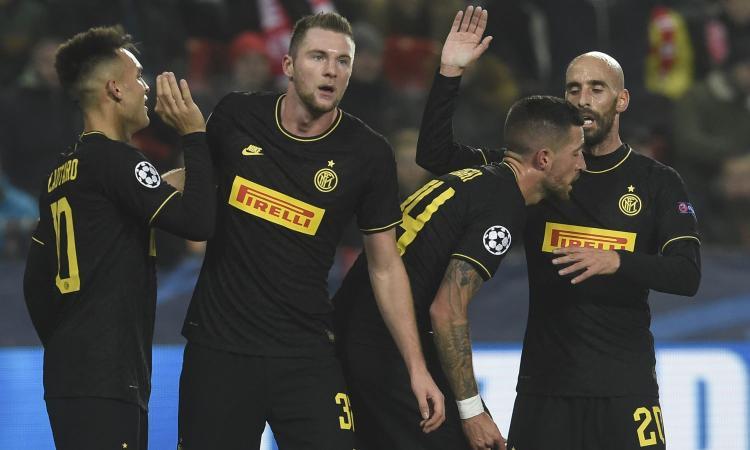 Più forte di Slavia e Var: questa Inter può battere anche il Barcellona