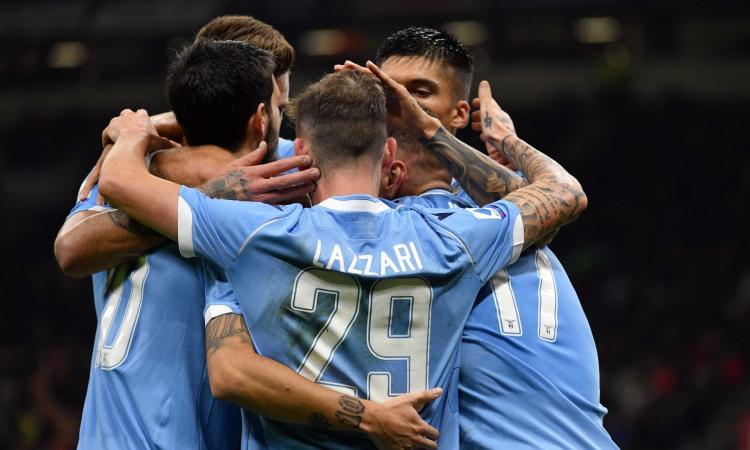 La Lazio vince contro il Milan a San Siro dopo 30 anni ed è quarta: 2-1. Crisi Pioli: Champions a 8 punti