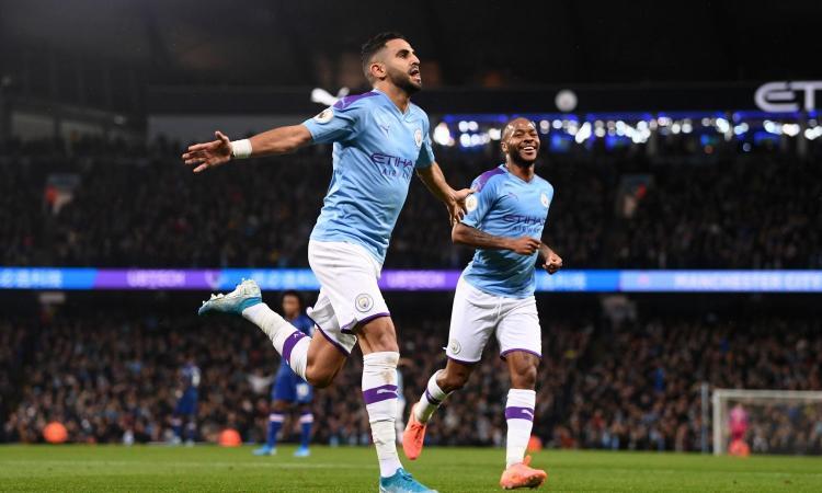 Manchester City: Mahrez può partire