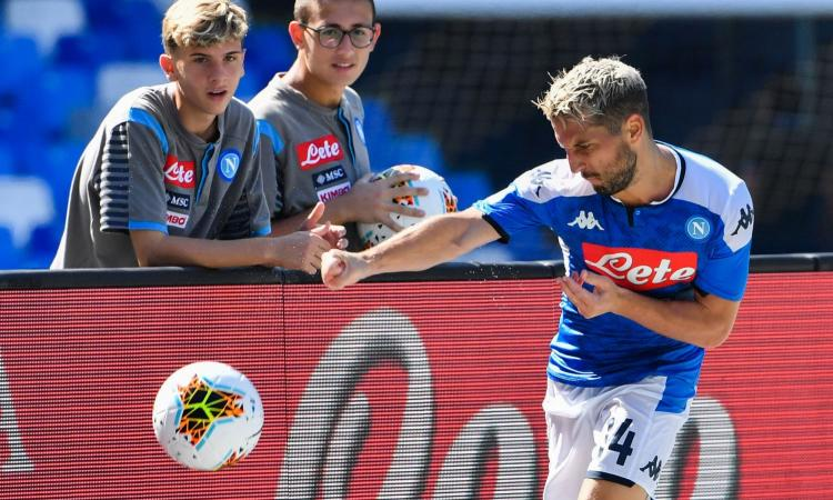 Napoli: Mertens e quel 'no' a Inter e Milan, ma a gennaio lo scenario può cambiare