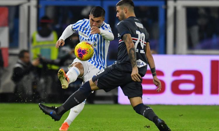 Spal-Sampdoria 0-1: il tabellino
