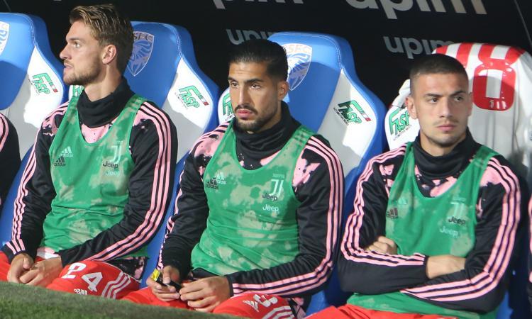Juventus, Emre Can: 'Non sono contento. E sul futuro…'