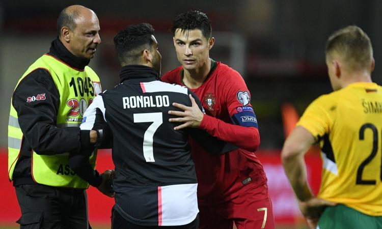 Tre gol, forma fisica e sorrisi alla sostituzione: il Ronaldo del Portogallo non è il Ronaldo della Juve!