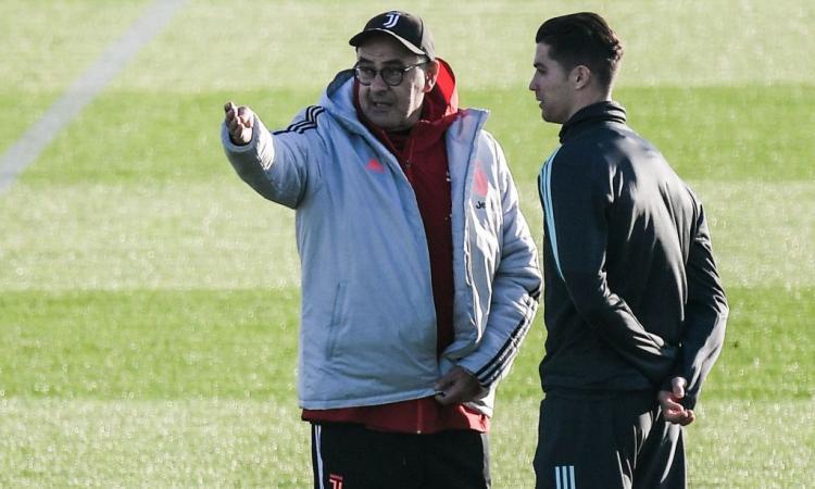 Da Ronaldo a Bonucci, questa non è ancora la Juve di Sarri: lo sarà mai?
