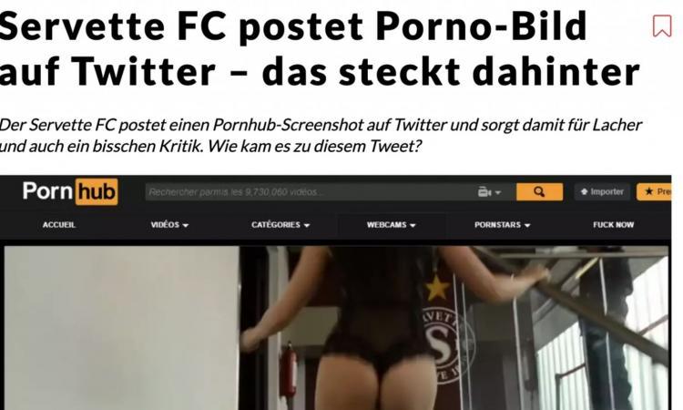 Momenti Di Gioia: Svizzera, il Servette invita i tifosi allo stadio… con un video di Pornhub! Club accusato di sessismo