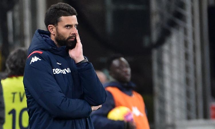 Genoa, Thiago Motta: 'Preso gol nel nostro momento migliore. Classifica scomoda, ma non spaventi nessuno'