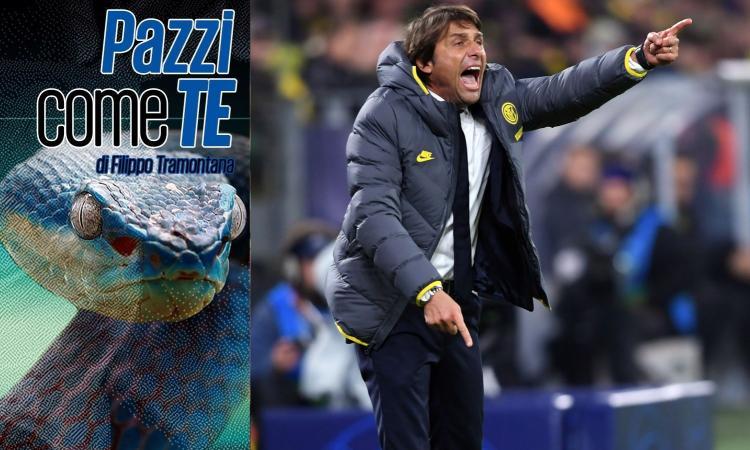Conte 'pazzo' come l'Inter, ma ha ragione: servono acquisti