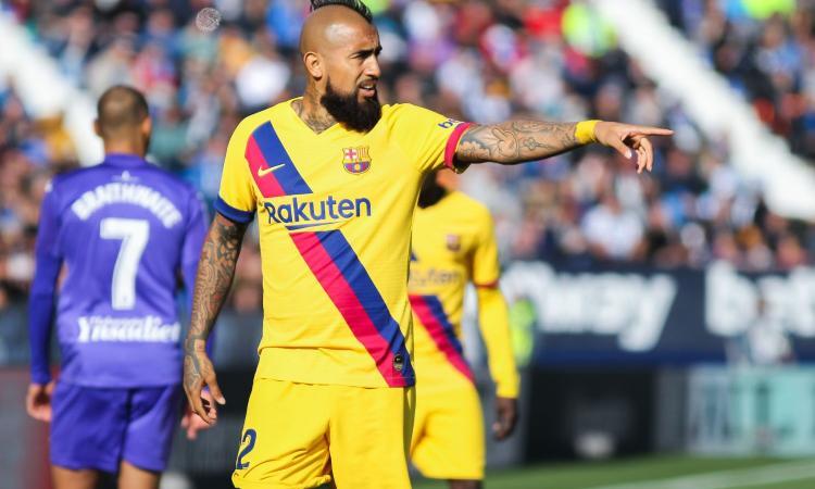 Inter e Juve, Vidal rompe il silenzio: 'Felice a Barcellona, voglio restare'