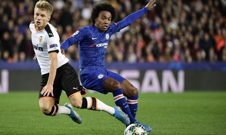 Juve, Willian vuole il rinnovo: 'Il Chelsea sa cosa chiedo. Li sto aspettando, il mio futuro è nelle loro mani'