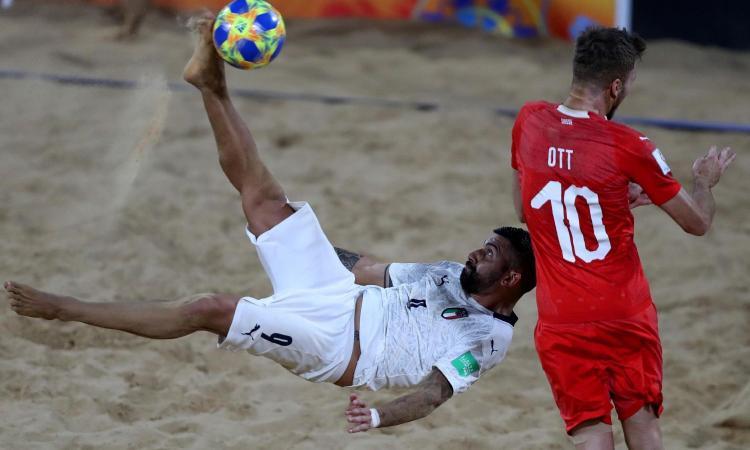 L'Italia del Beach Soccer in semifinale al Mondiale. Battuta la Svizzera all'ultimo secondo, il racconto