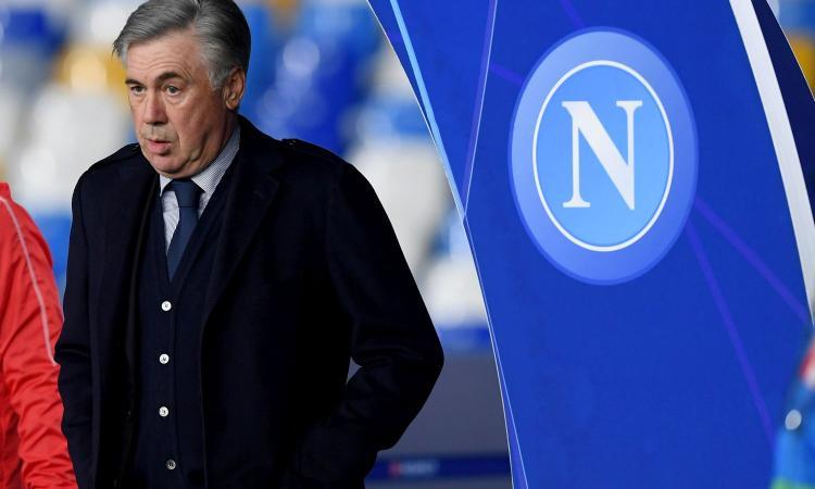 Napoli agli ottavi di Champions ma triste: addio Ancelotti, asso di coppe ma in campionato 4 di bastoni!