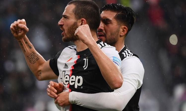 Juve, un record condiviso da Bonucci e Sergio Ramos