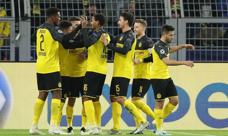 Champions: Liverpool primo, il Dortmund elimina l'Inter. Chelsea secondo, Ajax in Europa League
