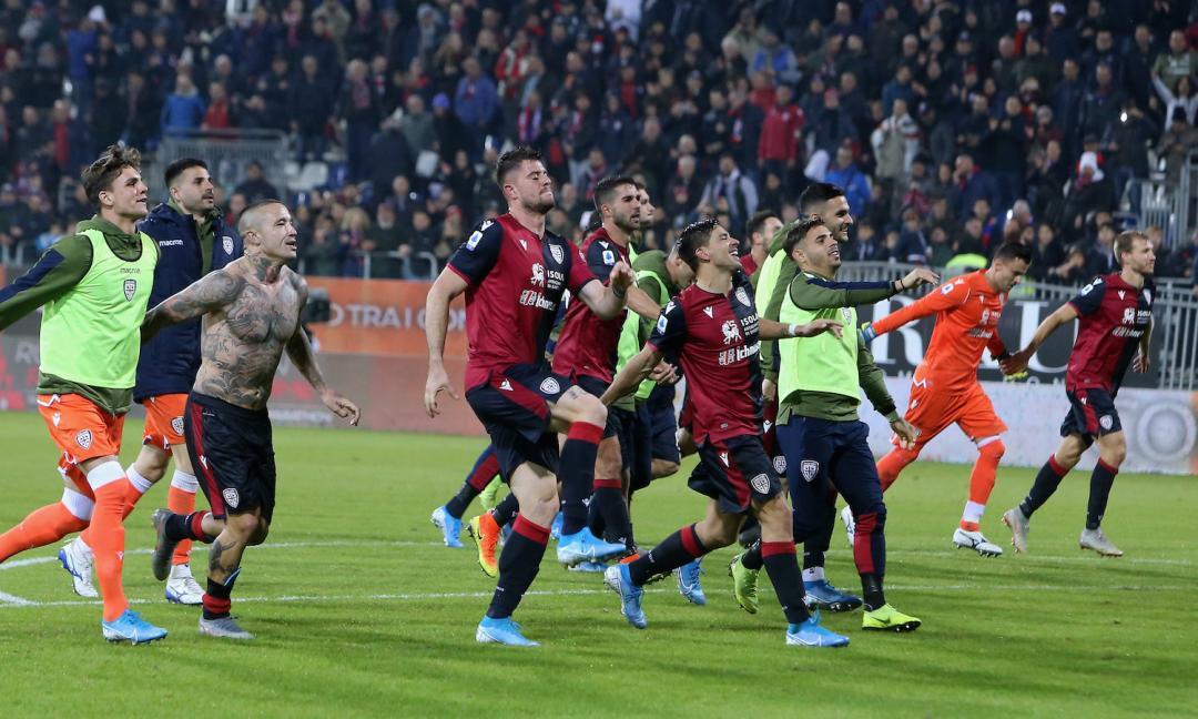 Cagliari-Samp: tutto il dramma del football