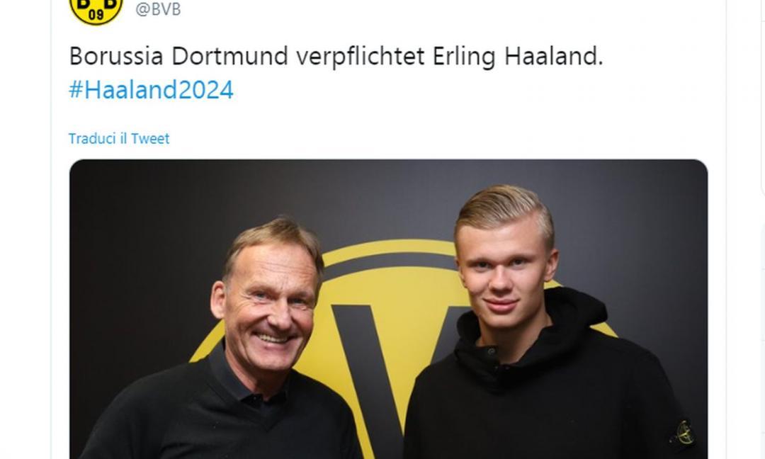 La Juve dorme: Haaland va al Dortmund